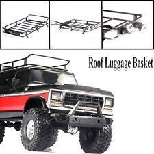 1/10 RC Metal Car Roof Luggage Rack For TRAXXAS TRX4 Ford Bronco 90046 90047 Car