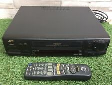 High End JVC HR-J635 Nicam Stereo VHS Video Recorder Player With Remote Control