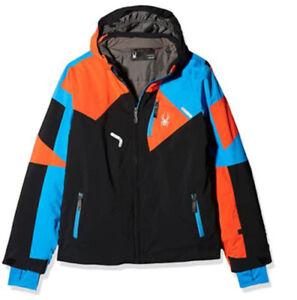 Spyder Boys Leader Insulated  Ski Snowboarding Winter Jacket Size 12, NWT