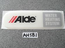 ALDE Système de chauffage résine BADGE pour caravane ou camping-car ahsb1