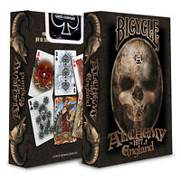 BICYCLE ALCHEMY 1977 ENGLAND PLAYING CARDS DECK GOTHIC FANTASY ART MAGIC TRICKS