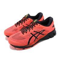 Asics Gel-Kayano 26 4E Extra Wide Orange Black Men Running Shoes 1011A536-700