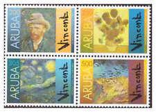Aruba 2010 Paintings van Gogh Sunflowers MNH