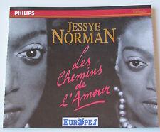 JESSYE NORMAN . LES CHEMINS DE L'AMOUR . 2 CD