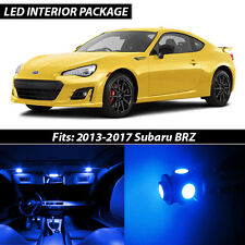 2013-2017 Subaru BRZ Blue Interior LED Lights Package Kit