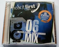HEAR IT FIRST. COM - 06 MIX - ENHANCED CD - NEW
