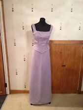 Romantica Purple Bridesmaid Dress Size 14