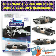 Greenlight Hollywood Bluesmobil - Blues Brothers Modellauto 1:64 Police DIE CAST