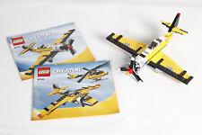 Lego 6745 Creator Avión Amarillo Montado con Instrucciones 3767