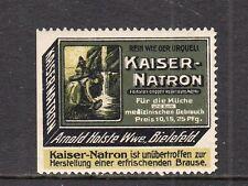 402704/ Reklamemarke - Kaiser-Natron - Arnold Holste Wwe. - Bielefeld