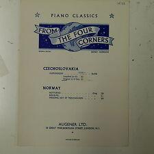 piano solo music DVORAK humoresque , Gb op.101/7