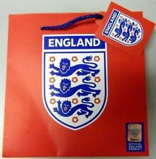 Red Official FA England Football Gift/CD/DVD/Party Bag 17 x 17 x 6cm - BARGAIN
