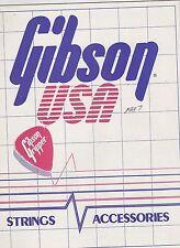 #MISC-0468 - 1987 GIBSON GUITAR ACCESSORIES music instrument catalog