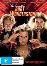 The Incredible Burt Wonderstone (DVD, 2013) R4 BRAND NEW SEALED - FREE POST!