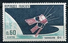 STAMP / TIMBRE FRANCE NEUF LUXE ** N° 1476 ** LANCEMENT DU SATELLITE D1