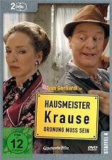 2 DVDs  * HAUSMEISTER KRAUSE - STAFFEL 8 ~ Tom Gerhardt # NEU OVP