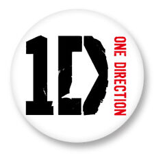"Pin Button Badge Ø25mm 1"" One Direction Pop Rock"