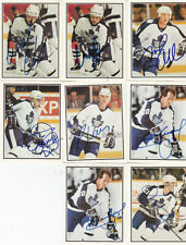 [A] 1988-89 Toronto Police MAPLE LEAFS Auto lot of 26