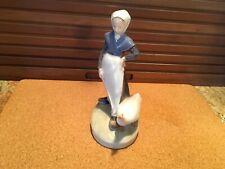 Royal Copenhagen Figurine Goose Girl. #528