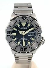 Seiko Black Monster SKX779 200-Meter Dive Watch - Collectible Model