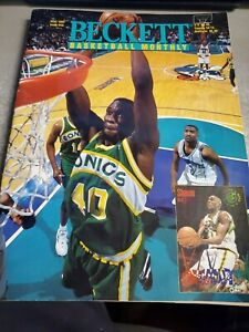 Beckett Basketball Monthly Magazine June 1995 Issue #59 Shawn Kemp