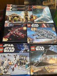 lego star wars instruction Manuals Only Bundle