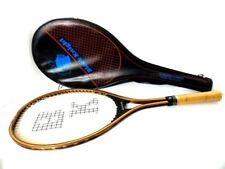Black Knight G80 Mid-Knight Squash Racquet/With Case Graphite & Wood - Deadstock
