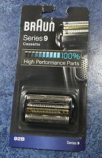 Braun Series 9 92B Electric Shaver Head Replacement Cassette - Black - NEW