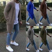 Herren Strickjacke Pullover Mantel Cardigan Oversize Cardigan Strickpulli Sweats