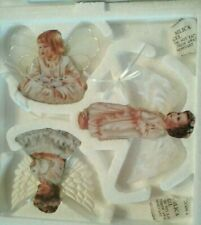 "Bradford ""Heaven'S Little Angels"" (3) Ornaments Sixth Set, D. Gelsinger Artist"