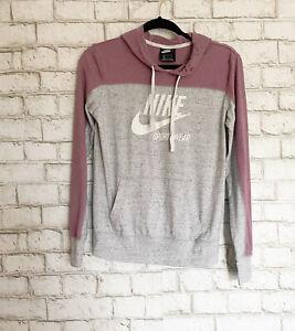 Nike Sportswear Long Sleeve Varsity Hoodie T-Shirt Women's Size Small