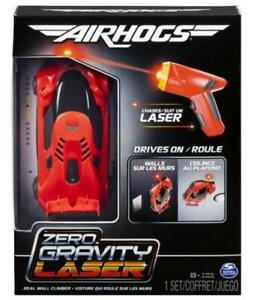 New Air Hogs Zero Gravity Laser Guided Wall Climbing Remote Control Race Car Red