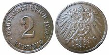 J 11   2 Pfennig Kaiserreich 1914 E in VZ+  502846