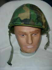 Woodland camouflage cover for Us M1 Helmet Vietnam?