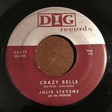 Julie Stevens Crazy Bells / Blue Mood 45  R&B soul