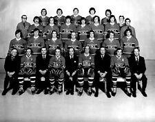 Montreal Canadiens 1972-73 NHL Season Team 8x10 Photo
