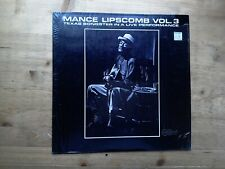 Mance Lipscomb Volume 3 Texas Songster Excellent Vinyl Record Arhoolie F1026