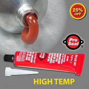 PS RED High Temp RTV Silicone Sealant Engine Intake Exhaust Manifold Gasket USA