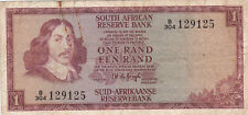 1 RAND FINE BANKNOTE FROM SOUTH AFRICA 1967 PICK-110b