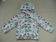 BNWT M&S Indigo Collection White Floral Print Rain Jacket Age 4-5 Years