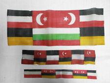 Convoluzione 22 Originale Vecchia Stoffa Bandiere per WK1 Soldati Tende ECC.