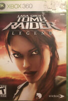 Tomb Raider Legend Xbox 360/Xbox One Game Complete Lara Croft Legends
