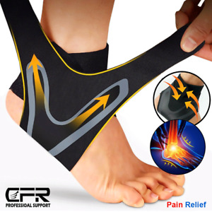 Ankle Brace Support Compression Sleeve Plantar Fasciitis Pain Relief Foot Wrap