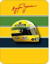 Ayrton Senna 1990 Helmet Pin