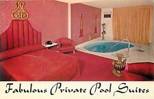 LAS VEGAS, NEVADA GOLF AND COUNTRY CLUB MOTOR HOTEL PRIVATE POOL SUITES POSTCARD