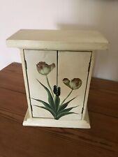 Decorative wooden key box