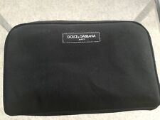 Neu DOLCE GABBANA DG Kosmetik Make up Tasche Etui Kultur Beauty Bag