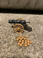 Vintage Playmobil  Cannon And Cannonballs Possibly Western Set?