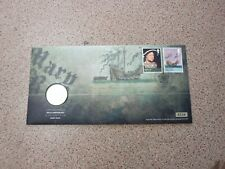 2011 United Kingdom brilliant uncirculated £2 coin - The Mary rose & stamp cover