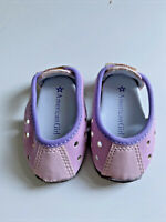 American Girl Doll Licorice Play Outfit Purple Shoes Sneakers Lavendar Holes